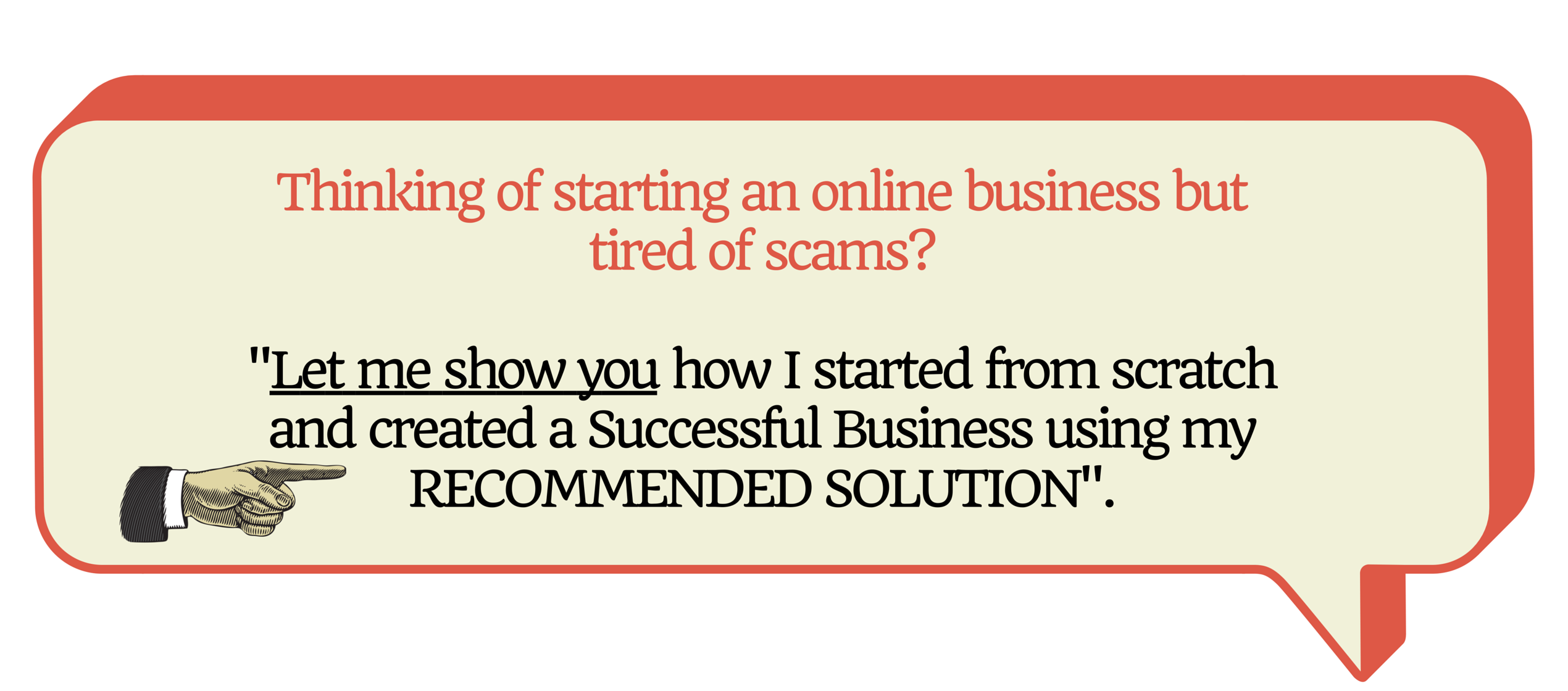 Thinking of starting an online business but tired of scams-