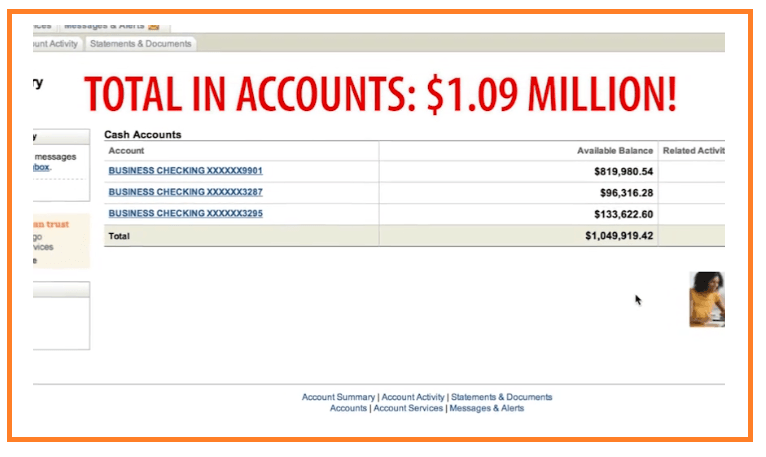 Big-Profits-Plan-bank-account-evidence