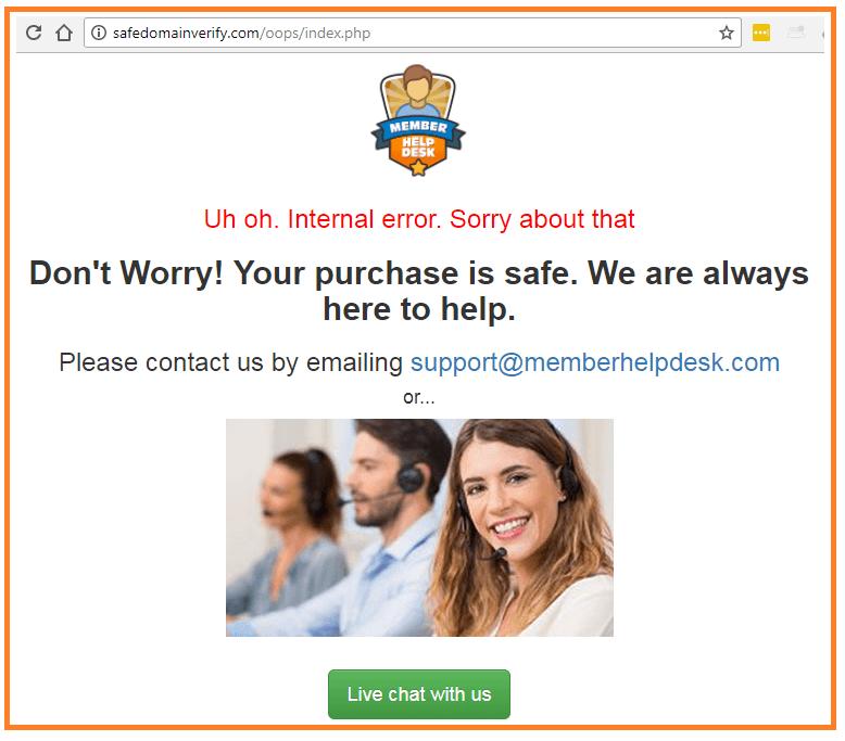 Big-Profits-Plan-trust-homepage-error