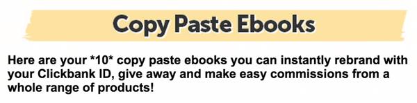 Copy-Paste-Income-Ebooks