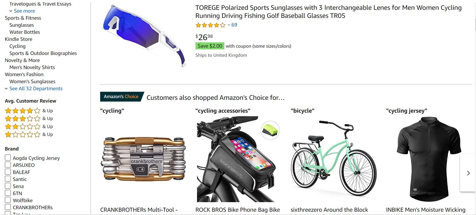 Amazon-cycling