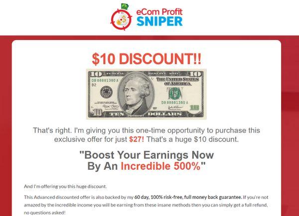 ecom-profit-sniper-downsell