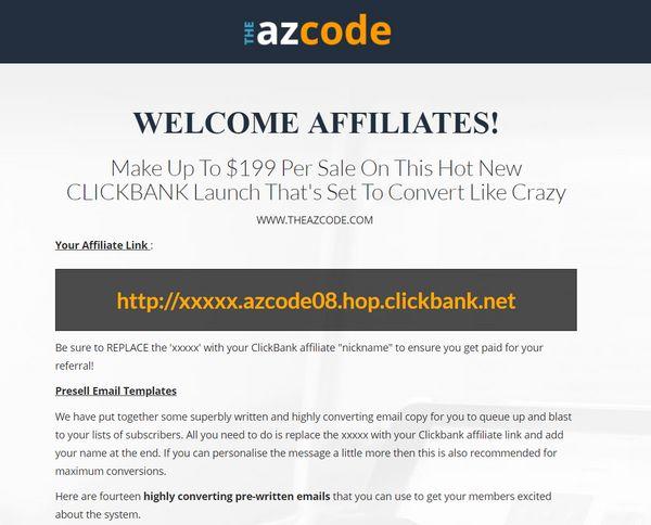 the-az-code-affiliates-page