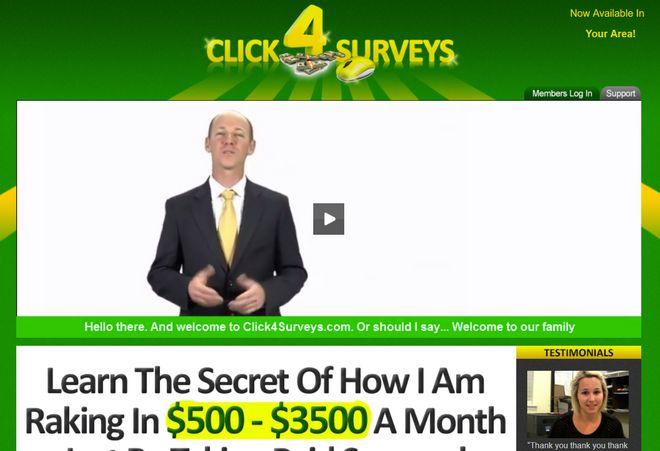 click-4-surveys-homepage