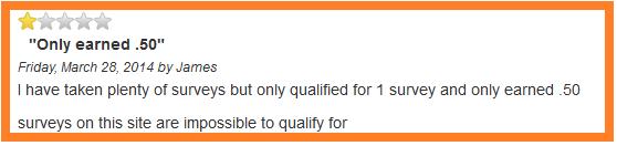 SurveySavvy-Negative-Review-About-Not-Qualifying-For-Surveys