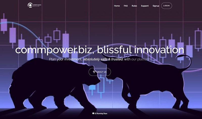 CommPower-Landing-Page